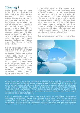 Futuristic Lounge Word Template, First Inner Page, 09620, Construction — PoweredTemplate.com