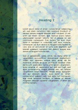 Sputum Analysis Word Template, Second Inner Page, 09658, Medical — PoweredTemplate.com