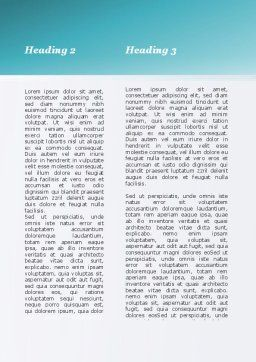 Choice Of Leisure Word Template, Second Inner Page, 09660, Holiday/Special Occasion — PoweredTemplate.com