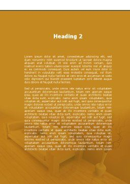 Lounge Word Template, Second Inner Page, 09666, Construction — PoweredTemplate.com