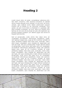 Surveillance Camera Word Template, Second Inner Page, 09671, Consulting — PoweredTemplate.com