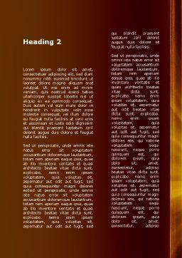 Door Into Summer Word Template, Second Inner Page, 09685, Construction — PoweredTemplate.com