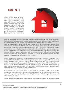 Home Insurance Word Template, First Inner Page, 09690, Construction — PoweredTemplate.com