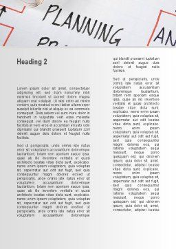 Planning Idea Word Template, Second Inner Page, 09692, Business — PoweredTemplate.com