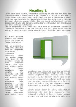 Compromise In The Negotiations Word Template, First Inner Page, 09740, Construction — PoweredTemplate.com