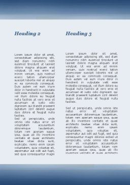 Searching Documents Word Template, Second Inner Page, 09771, Consulting — PoweredTemplate.com