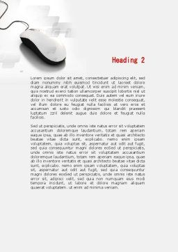 Modern House Word Template, Second Inner Page, 09772, Construction — PoweredTemplate.com