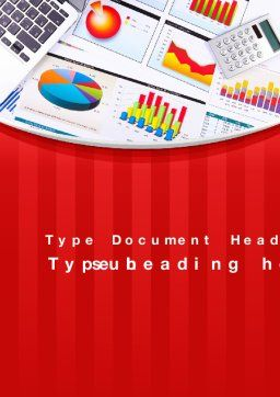Various Diagrams Word Template, Cover Page, 09839, Financial/Accounting — PoweredTemplate.com