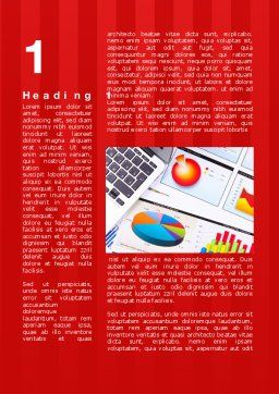 Various Diagrams Word Template, First Inner Page, 09839, Financial/Accounting — PoweredTemplate.com