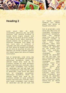 Philatelism Word Template Second Inner Page