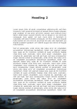 Airport Service Word Template, Second Inner Page, 09856, Cars/Transportation — PoweredTemplate.com