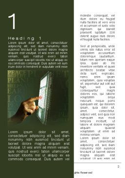 Modern Methods In Protection Of The Environment Word Template, First Inner Page, 09871, Nature & Environment — PoweredTemplate.com