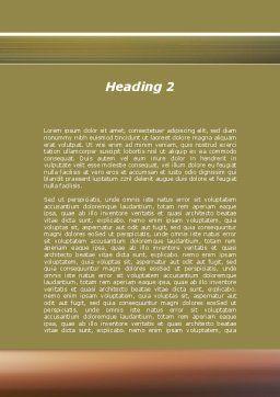 Run Businessman Run Word Template, Second Inner Page, 09878, Business — PoweredTemplate.com
