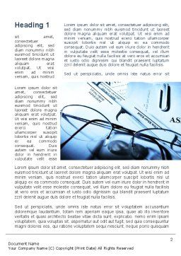 Corporate Right Word Template, First Inner Page, 09882, Legal — PoweredTemplate.com