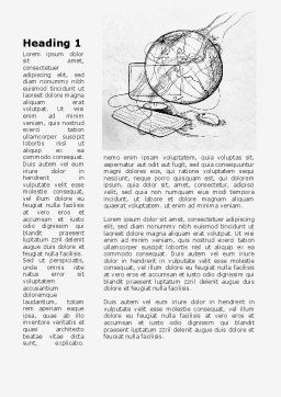 Educational Computer Systems Word Template First Inner Page
