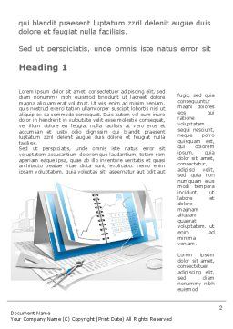 Electronic Calendar Word Template First Inner Page