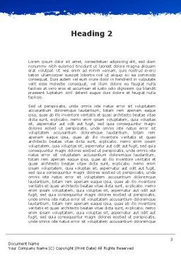 Ruins Of Ancient Greek Temple Word Template, Second Inner Page, 09908, Holiday/Special Occasion — PoweredTemplate.com