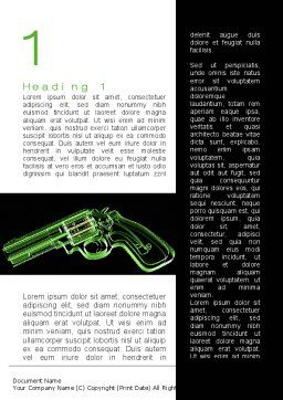 Inside The Revolver Word Template, First Inner Page, 09922, Military — PoweredTemplate.com