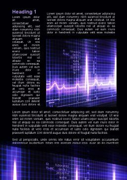 Analysis Of Oscilloscope Traces Word Template, First Inner Page, 09943, Medical — PoweredTemplate.com