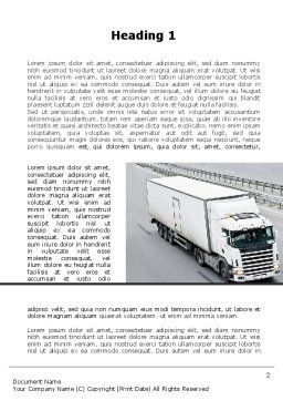 Cargo Traffic Word Template First Inner Page