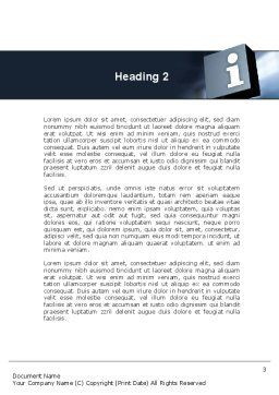 Information Box Word Template, Second Inner Page, 09969, Consulting — PoweredTemplate.com