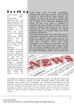 Business News Word Template, First Inner Page, 09970, Business Concepts — PoweredTemplate.com
