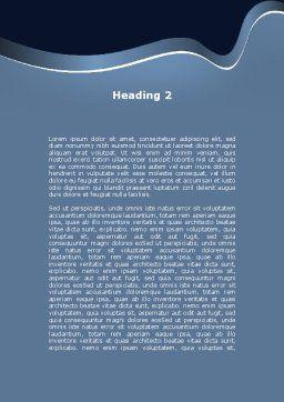 Street Dancer Word Template, Second Inner Page, 09974, Sports — PoweredTemplate.com