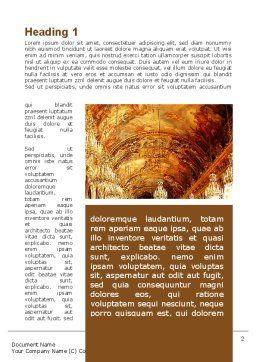 Architecture of the Renaissance Word Template First Inner Page