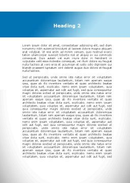 Lumbar Spine Word Template, Second Inner Page, 10035, Medical — PoweredTemplate.com