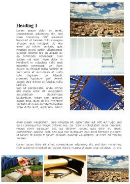 Building For Sale Word Template First Inner Page