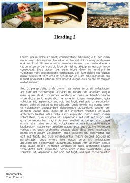 Building For Sale Word Template Second Inner Page