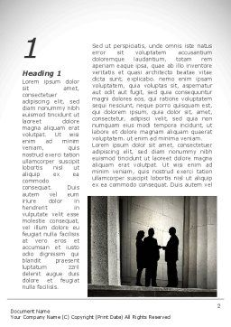 Lobby Talks Word Template, First Inner Page, 10093, Legal — PoweredTemplate.com