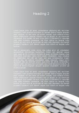 Cyber Law Word Template, Second Inner Page, 10100, Legal — PoweredTemplate.com