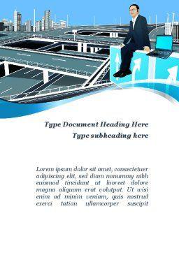 Business Alternatives Word Template, Cover Page, 10110, Business — PoweredTemplate.com
