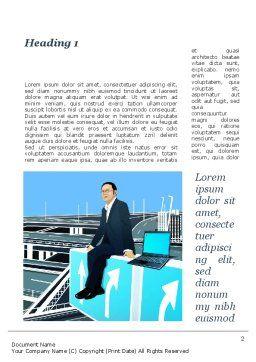 Business Alternatives Word Template, First Inner Page, 10110, Business — PoweredTemplate.com