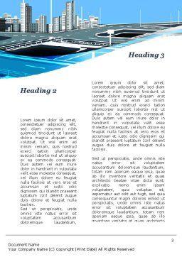 Business Alternatives Word Template, Second Inner Page, 10110, Business — PoweredTemplate.com