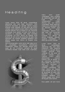 Dollar Concept Word Template First Inner Page
