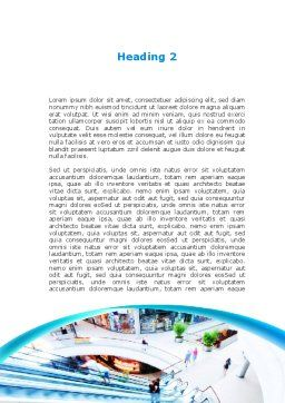 Shopping Mall Word Template, Second Inner Page, 10128, Careers/Industry — PoweredTemplate.com