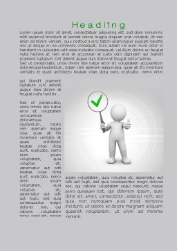 Recommended Stuff Word Template, First Inner Page, 10145, Consulting — PoweredTemplate.com