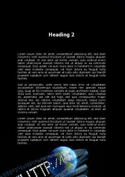 URL Word Template, Second Inner Page, 10192, Technology, Science & Computers — PoweredTemplate.com