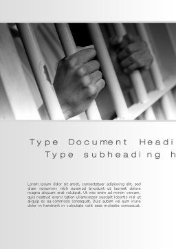 Custody Word Template, Cover Page, 10201, Legal — PoweredTemplate.com
