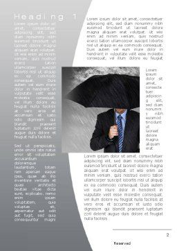 Protection Word Template, First Inner Page, 10217, Business Concepts — PoweredTemplate.com