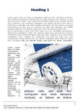 Design Word Template First Inner Page