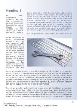 Repair Service Word Template, First Inner Page, 10269, Technology, Science & Computers — PoweredTemplate.com