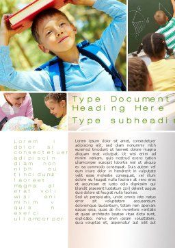 Learning Word Template Cover Page