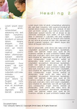 Learning Word Template Second Inner Page