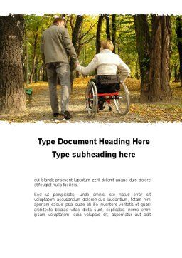 Mutual Understanding Word Template, Cover Page, 10302, People — PoweredTemplate.com