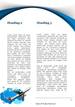 Travelling Mode Word Template, Second Inner Page, 10303, Cars/Transportation — PoweredTemplate.com