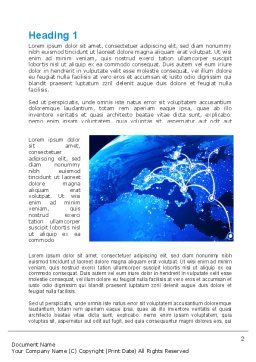 European Connections Word Template, First Inner Page, 10306, Business — PoweredTemplate.com