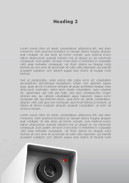Surveillance Word Template Second Inner Page